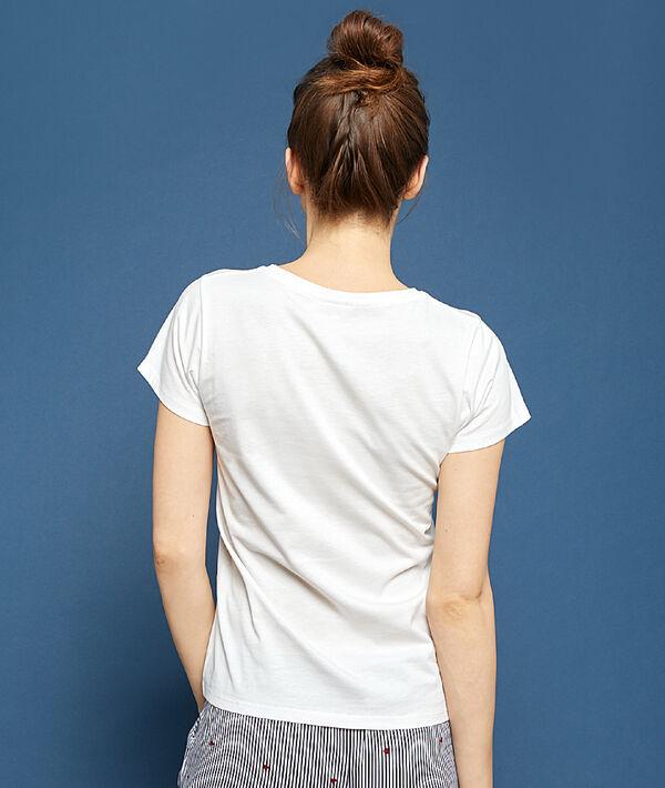 T-shirt z napisem 'love yourself first';${refinementColor}