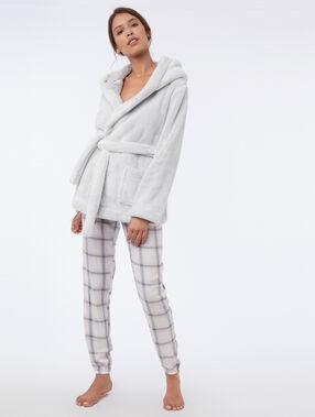 Bluza ze sztucznego futerka blanc.