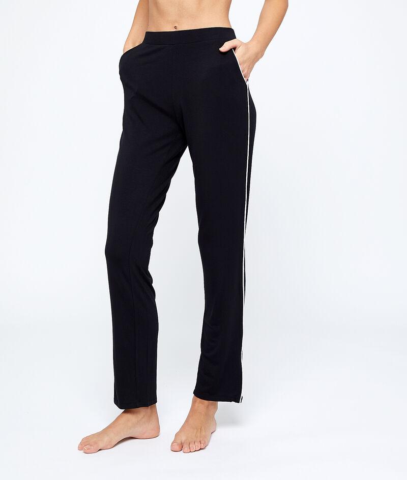 Spodnie od piżamy z lampasami;${refinementColor}