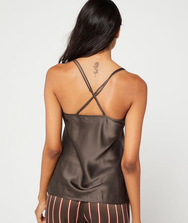 Koszulka z ramiączkami skrzyżowanymi na plecach