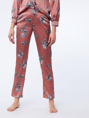 Spodnie w zebry rose.