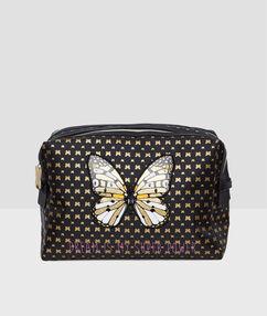Kosmetyczka z motylkiem noir.