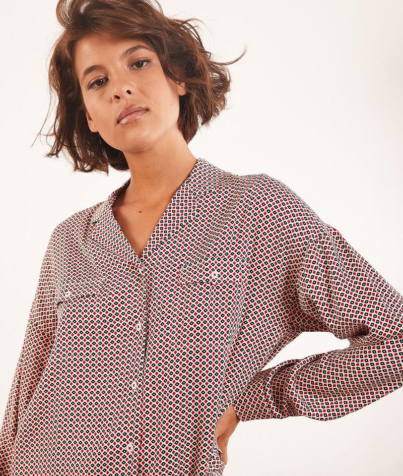 Koszula od piżamy z nadrukiem;${refinementColor}