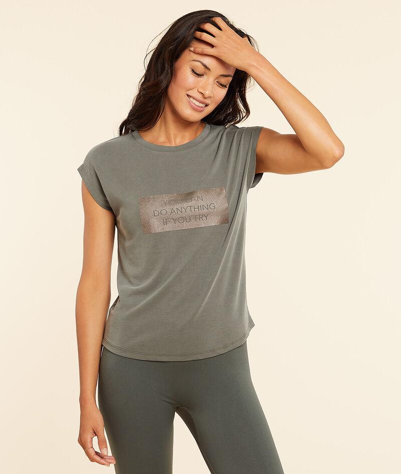 T-shirt z krótkimi rękawami;${refinementColor}