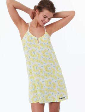 Koszulka nocna w cytrynki jaune.