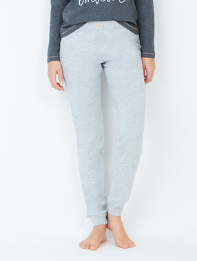 Spodnie fason jogging szary clair.