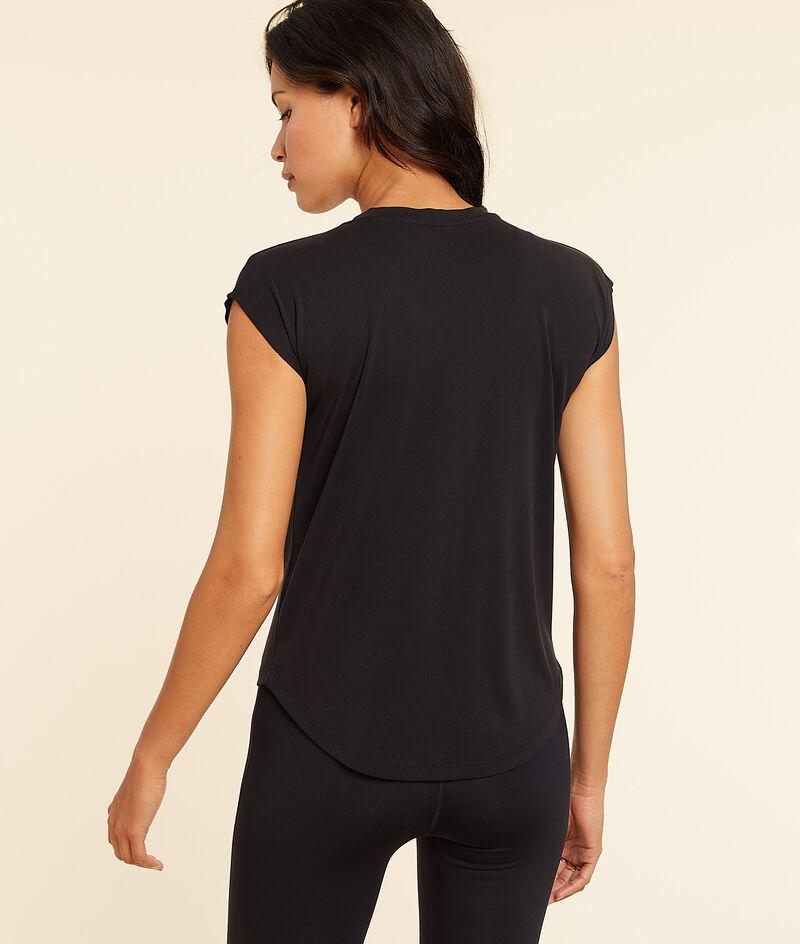 T-shirt z krótkimi rękawami i napisem 'run';${refinementColor}