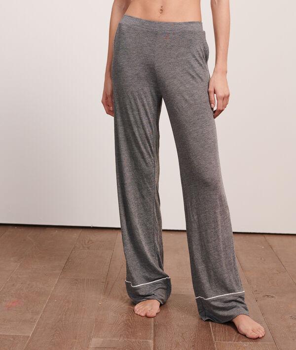 Szerokie spodnie w jednolitym kolorze;${refinementColor}