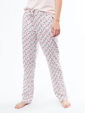 Spodnie w koniki morskie blanc.