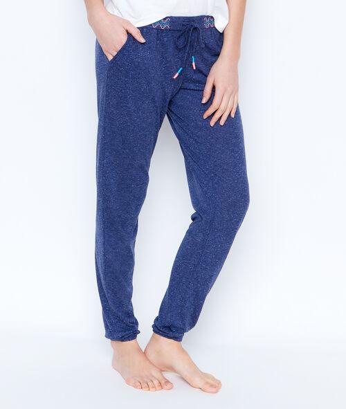 Spodnie z kolorowym pasem