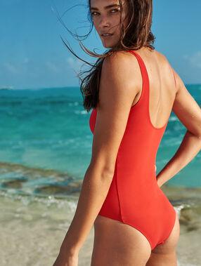 Jednoczęściowy kostium kąpielowy rouge.
