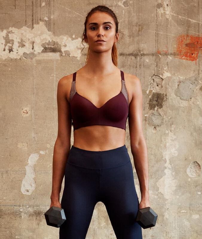 Biustonosz sportowy - mocne podtrzymanie cassis.