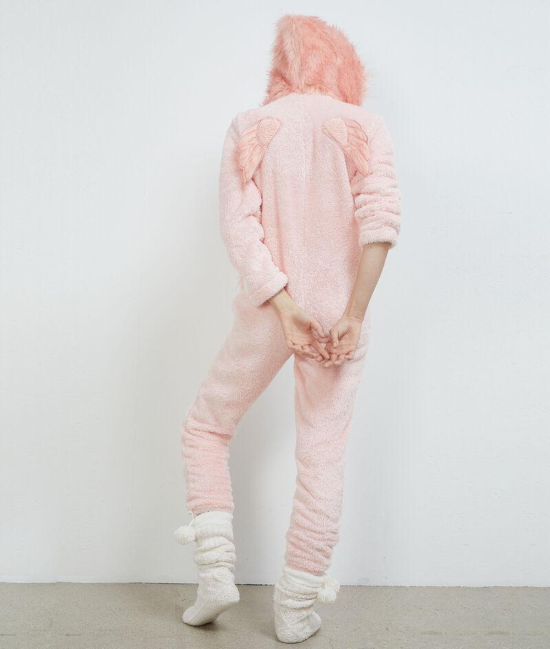 Kombinezon piżamowy struś;${refinementColor}