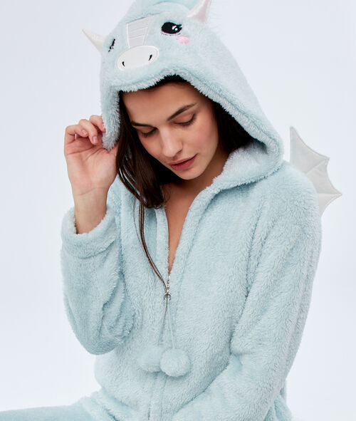 Kombinezon piżamowy smok