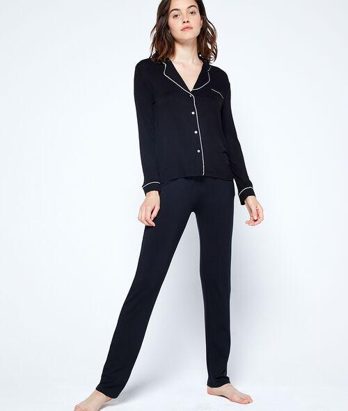 Dwukolorowa koszulka od piżamy