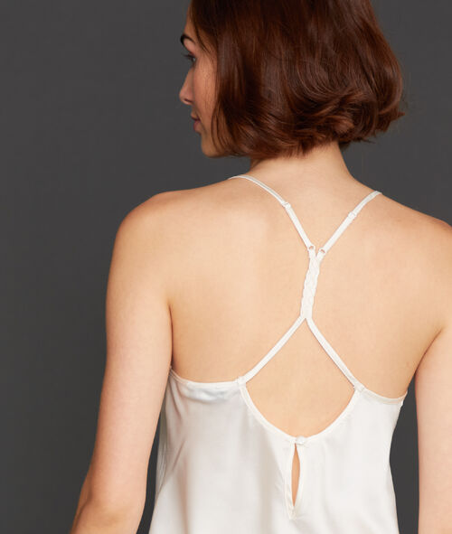 Top ze skrzyżowanymi ramiączkami na plecach