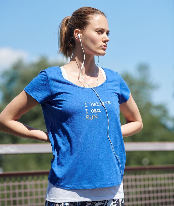 T-shirt treningowy z podkoszulkiem