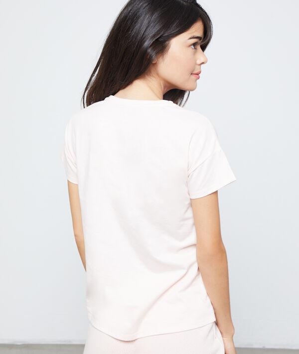 "T-shirt z motywem księżniczki Disneya i napisem ""pas du matin"""