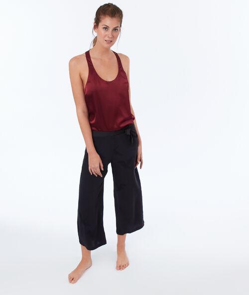 Spodnie w żakardowy wzór