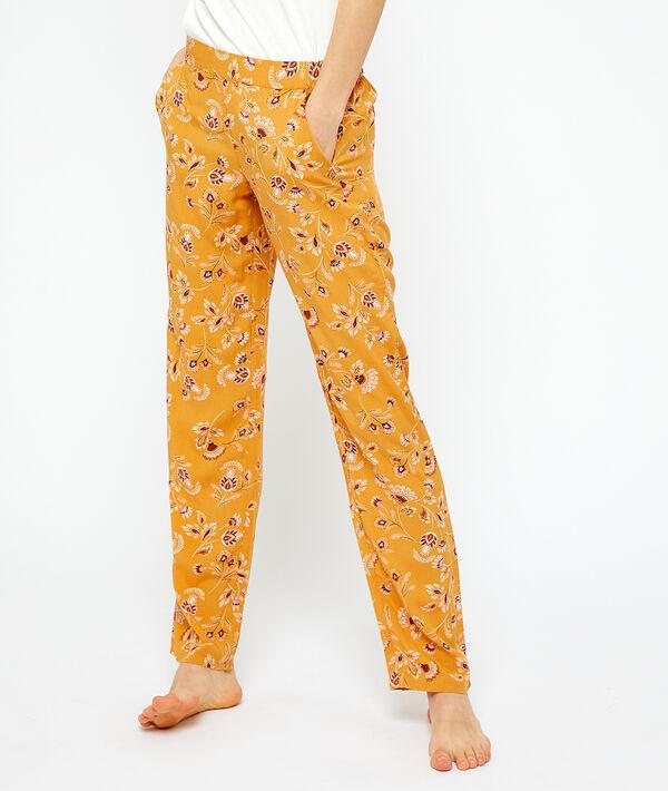 Spodnie w kwiatki;${refinementColor}
