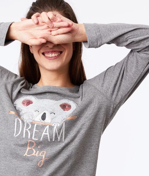 Piżama trzyczęściowa 'dream big'