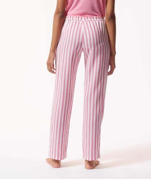 Spodnie piżamowe w paski;${refinementColor}