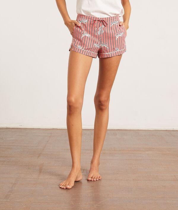 Spodenki od piżamy z motywem tygrysów;${refinementColor}