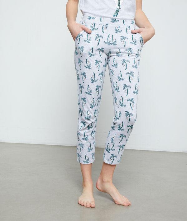 Spodnie 3/4 z organicznej bawełny w misie koala;${refinementColor}