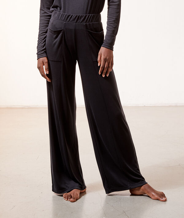 Spodnie homewear z kieszeniami;${refinementColor}