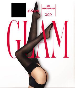 Pończochy glam noir.