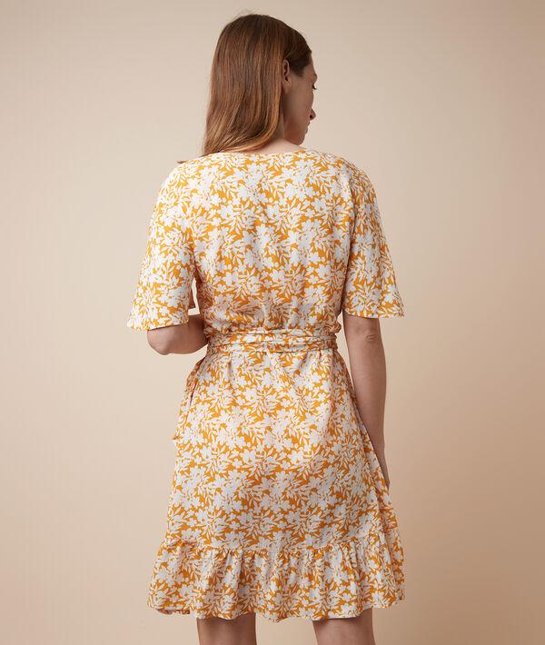 Sukienka halka nocna w kwiatowy deseń;${refinementColor}
