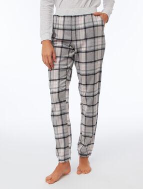 Spodnie w kratę gris.