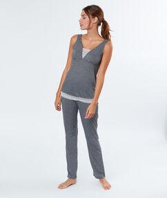 Piżama dwuczęściowa gris.