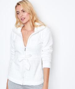 Gruba i ultra ciepła bluza blanc.