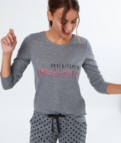 T-shirt z napisem gris.