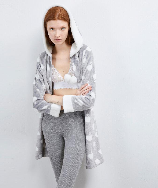 Szlafrok homewear gris.