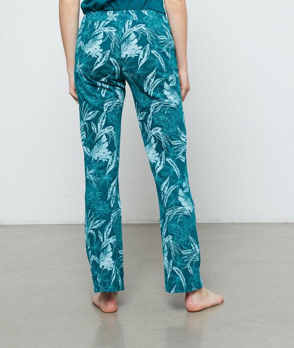 Spodnie z organicznej bawełny z nadrukiem;${refinementColor}