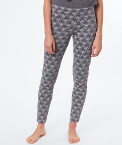 Spodnie legginsy w ananasy gris.