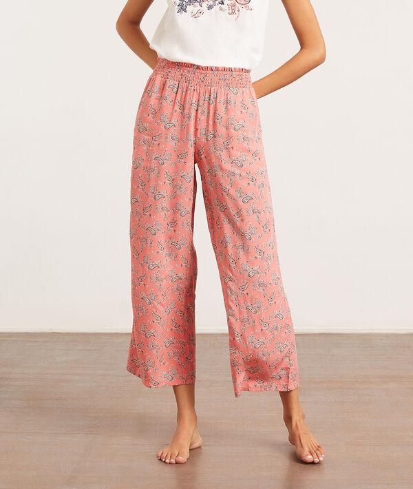 Spodnie od piżamy z apaszkowym nadrukiem;${refinementColor}