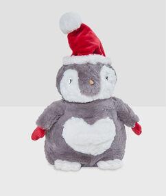 Schowek na piżamę- pingwinek gris.