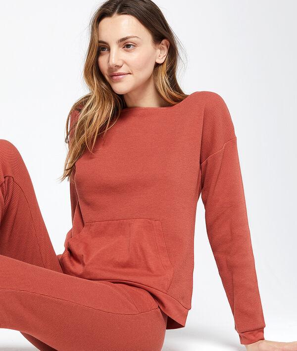 Bluza z kieszenią typu kangur
