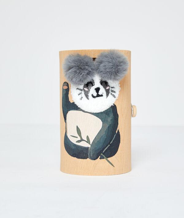 Skarpetki homewear panda;${refinementColor}