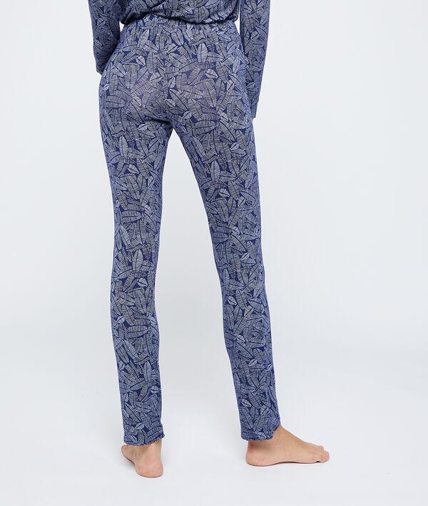 Wzorzyste spodnie;${refinementColor}