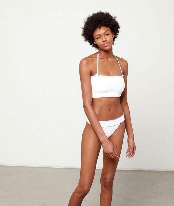 Klasyczny dół bikini, haftowane detale
