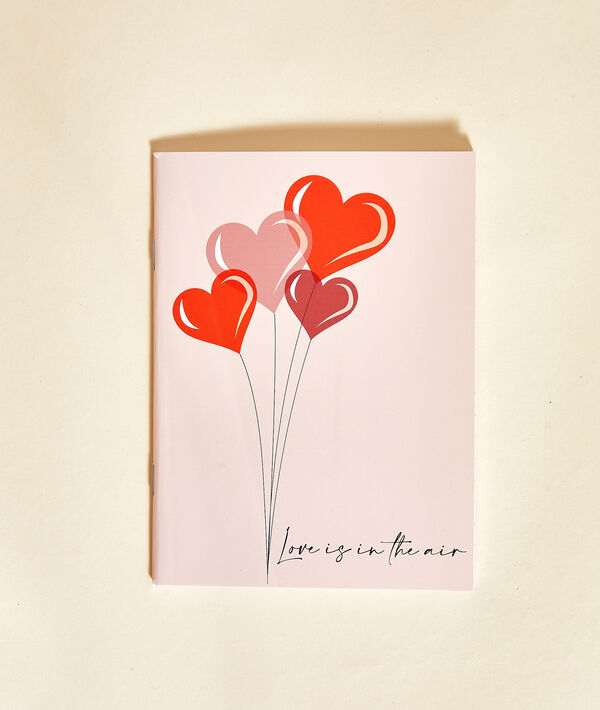 """Notes """"Love is in the air"""";${refinementColor}"""