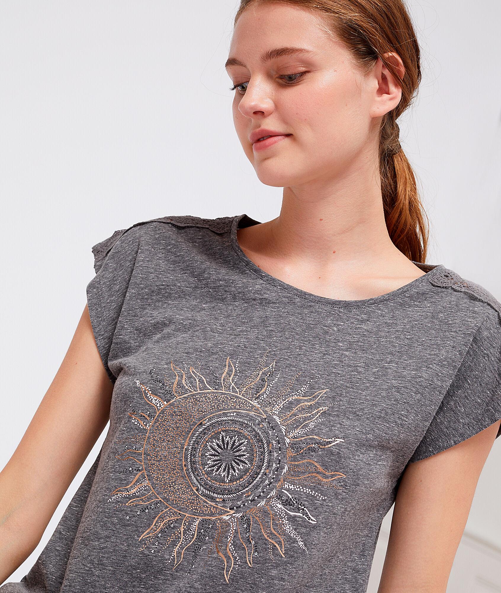 KYM T-shirt z nadrukiem