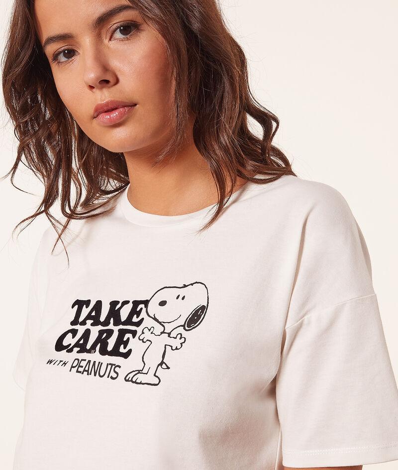 Koszulka Snoopy 'take care with peanuts';${refinementColor}