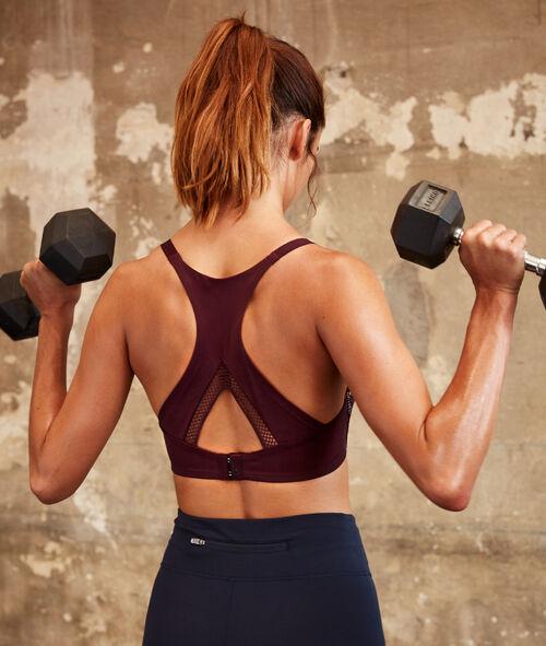 Biustonosz sportowy - mocne podtrzymanie
