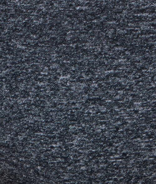 Majtki z mikrofibry i siateczki, deseń typu melanż