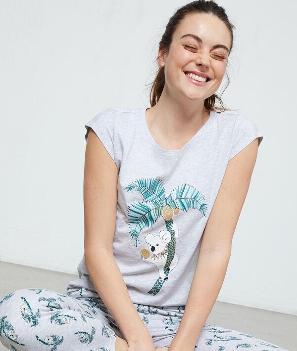 Top koala z organicznej bawełny;${refinementColor}